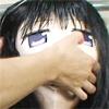 感じすぎて大汗!!肌タイ+アニメマスク拘束電マ責め!!