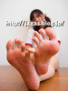 Gifts feet back photos from the JAGA's foot God, Nanami Bulma gymnastics wear + raw soles
