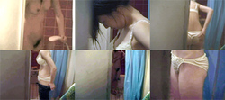My sister's friend JK shower and change clothes mp4