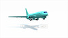 映像CG 飛行機 Airplane120215-004
