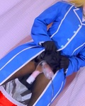 Game cosplay busty man's daughter inserts vibrator with forced erectionSpanking masturbation