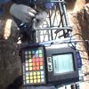 鉄筋ガス圧接部の超音波探傷・外観試験