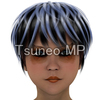XL size illustration CG women face up