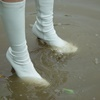 Wet & Messy Shoes Image Collection 044