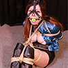 NN16-19 Nana Restrained and Nose Hooked in Satin Blouse FULL
