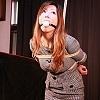 Photoset[#2074] Secretary Nana Bound & Nose Hooked