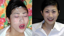 Mochizuki, Masako daily sermon face facial I got bloodshot eyes after the true Misako's tied to massive Bukkake facial cumshots! Edition [digital photos]