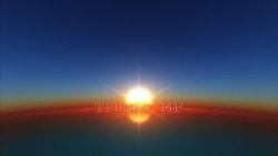 映像CG 日の出 Sunrise120509-002